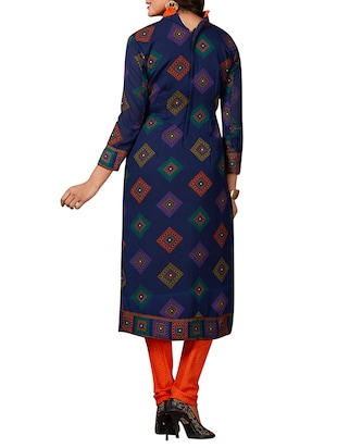 multi colored unstitched combo suit - 15344791 - Standard Image - 3