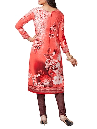 multi colored unstitched combo suit - 15345019 - Standard Image - 3