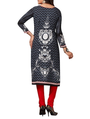 multi colored unstitched combo suit - 15345040 - Standard Image - 3