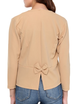 Button detail summer jacket - 15345131 - Standard Image - 3