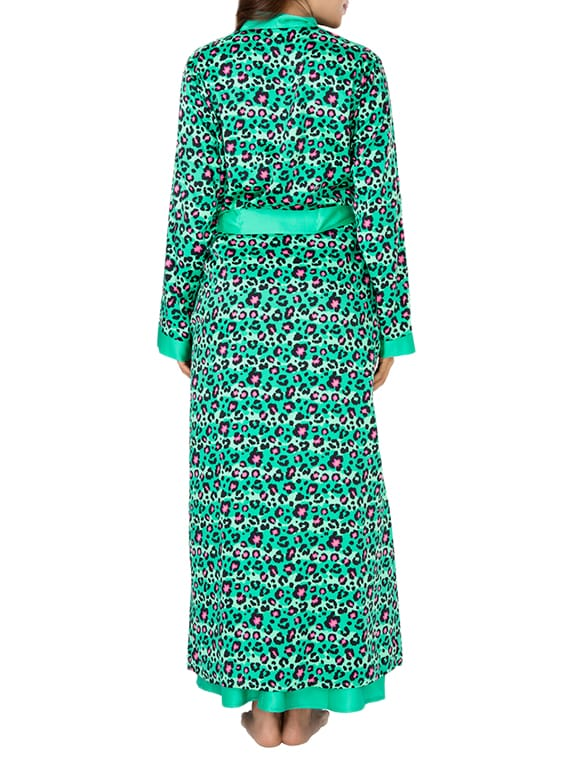 Buy Animal Print Sleepwear Robe by Prettysecrets - Online shopping ... 15828f774