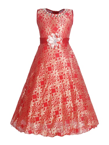 1443bf7c2b Buy Ethnic Floral Gowns For Girls in India   Limeroad