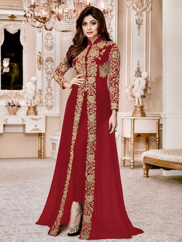 d34fd5a123e Red salwar kameez - Buy Red salwar kameez Online at Best Prices in ...