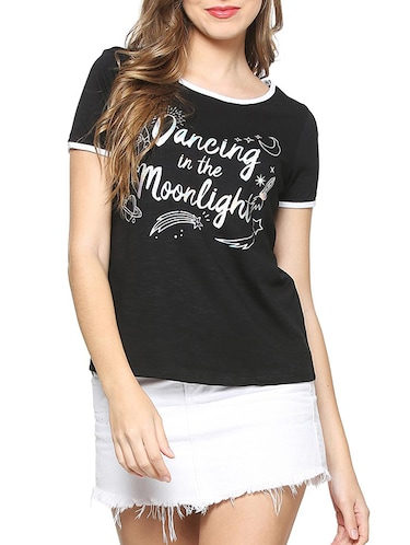 4a97f046f169e T Shirts for Women - Upto 70% Off | Buy Womens Designer Printed T ...