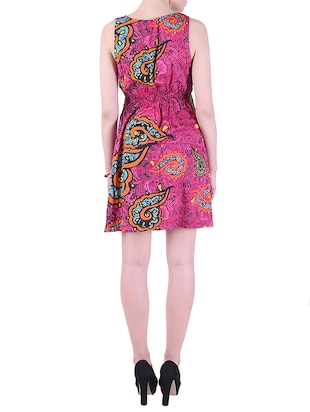 patch pocket  a-line dress - 15414758 - Standard Image - 3