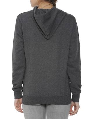 hooded zip up sweatshirt - 15416654 - Standard Image - 3
