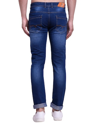 blue denim washed jeans - 15416729 - Standard Image - 3