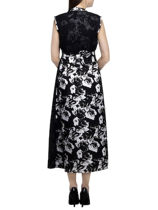 floral layered maxi dress - 15417551 - Standard Image - 3