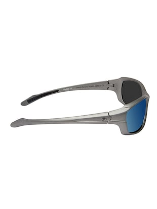 David Blake Green Sport Polarized Uv Protected Mirrored Sunglass - 15418715 - Standard Image - 3