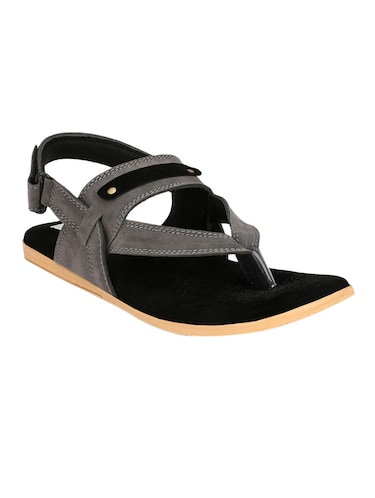 10f830029 Buy paragon stimulus men s grey sandals in India   Limeroad