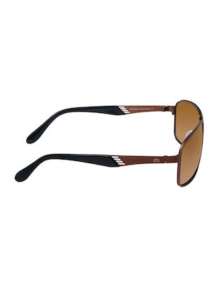 David Blake Brown Rectangular Polarized UV Protection Sunglass - 15454880 - Standard Image - 3