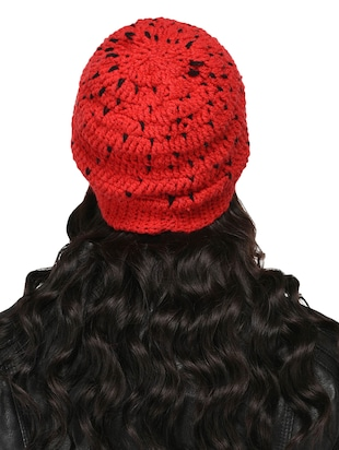 Knitted round cap - 15455810 - Standard Image - 3
