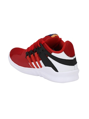 red Mesh sport shoes - 15483103 - Standard Image - 3