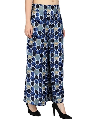 set of 2 printed flared palazzo - 15492089 - Standard Image - 9
