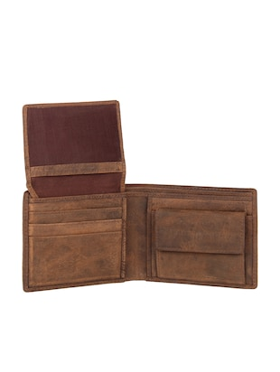 brown leather wallet - 15495233 - Standard Image - 3