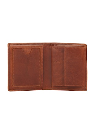 tan leather wallet - 15495242 - Standard Image - 3
