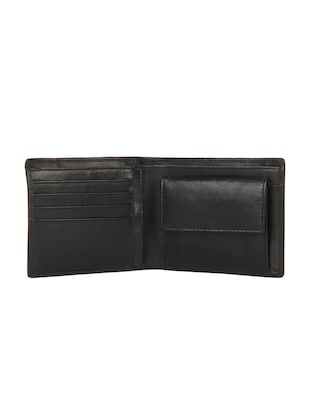 black leather wallet - 15495254 - Standard Image - 3