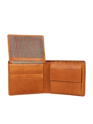 tan leather wallet - 15495267 - Standard Image - 3
