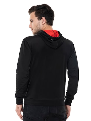 black fleece sweatshirt - 15495540 - Standard Image - 3