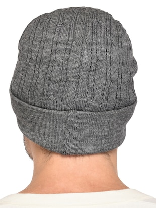 grey wool caps and hat - 15498081 - Standard Image - 3