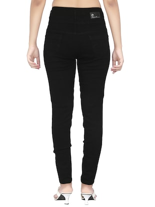 High rise skinny jeans - 15504505 - Standard Image - 3