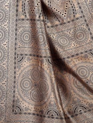 Contrast border mysore silk saree with blouse - 15518195 - Standard Image - 3
