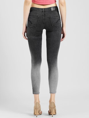 Ombre cropped jeans - 15560233 - Standard Image - 3