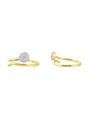 yellow gold body jewellery - 15574609 - Standard Image - 3