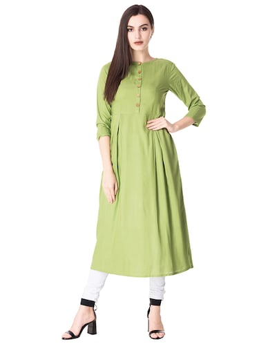 662da9395 Green Kurta- Buy Green Kurti for girls