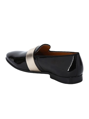 black Patent Leather slip ons - 15613206 - Standard Image - 3