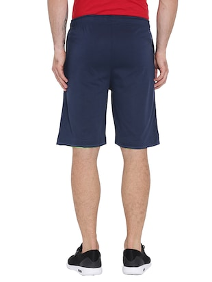 navy blue cotton shorts - 15621596 - Standard Image - 3