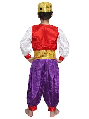 multi colored  polyester costume - 15625630 - Standard Image - 3