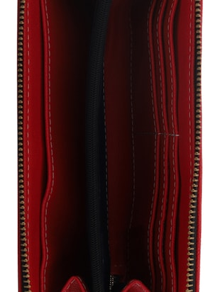 red leatherette (pu wallet - 15625775 - Standard Image - 3