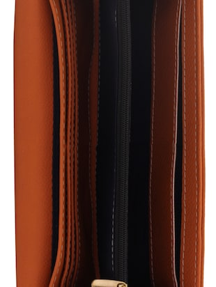 brown leatherette (pu wallet - 15625842 - Standard Image - 3