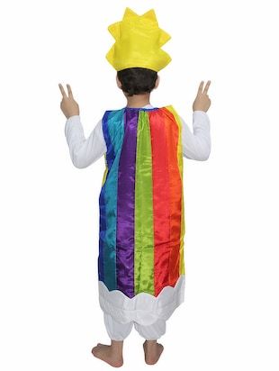 multi polyester costume - 15626164 - Standard Image - 3
