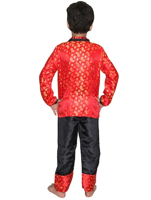 red polyester costume - 15626169 - Standard Image - 3