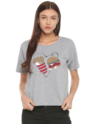 88e357cd3f2 T Shirts for Women - Upto 70% Off