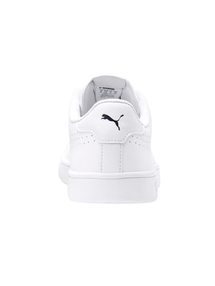 white Leather lace up sneakers - 15642488 - Standard Image - 3