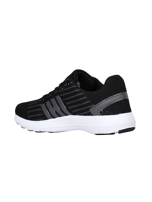 black Fabric sport shoes - 15729384 - Standard Image - 3