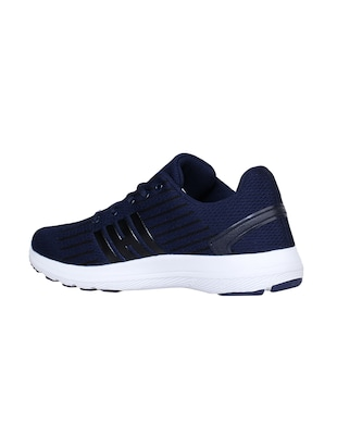 navy Fabric sport shoes - 15729385 - Standard Image - 3