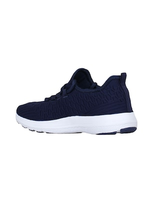 navy Fabric sport shoes - 15729389 - Standard Image - 3