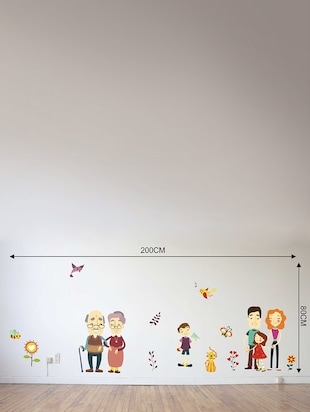 Wall Decals ' A Complete Family '  Wall stickers (PVC Vinyl) - 15730264 - Standard Image - 3