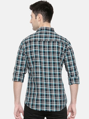 multicolor cotton casual shirt - 15731544 - Standard Image - 3