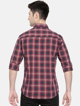 multicolor cotton casual shirt - 15731551 - Standard Image - 3