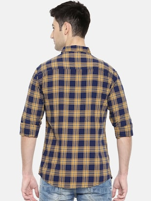 multicolor cotton casual shirt - 15731602 - Standard Image - 3