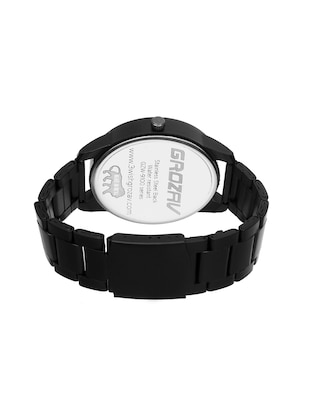 Round dial analog watch (910705WT) - 15731761 - Standard Image - 3