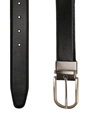 black leather belt - 15738532 - Standard Image - 3