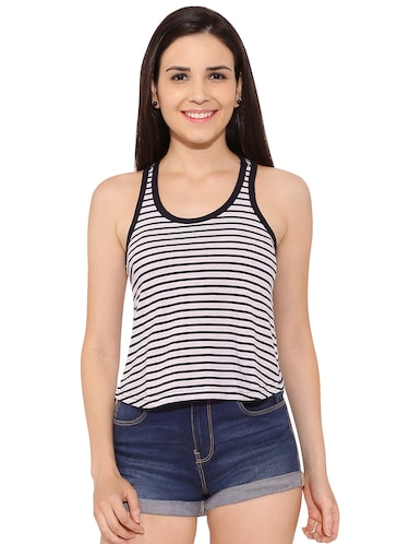 9ffed81c58f55 Buy sleeveless t shirts for women in India   Limeroad