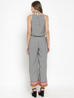 037288a76a08 Buy Tie Back Full Leg Jumpsuit by Sera - Online shopping for ...