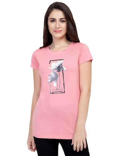 b9609dfdb T Shirts for Women - Upto 70% Off | Buy Womens Designer Printed T Shirts at  Limeroad